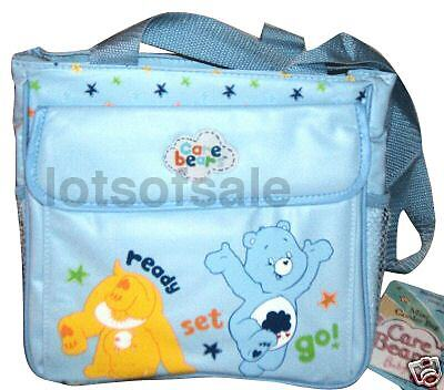 Care bears baby cooler bag insulated diaper blue boy