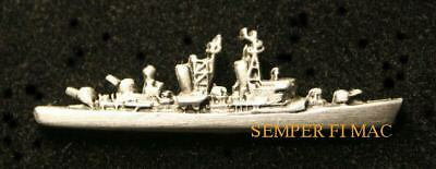 USS CARON DD-970 HAT LAPEL PIN MADE IN US NAVY DESTROYER IRAQ GIFT WOW
