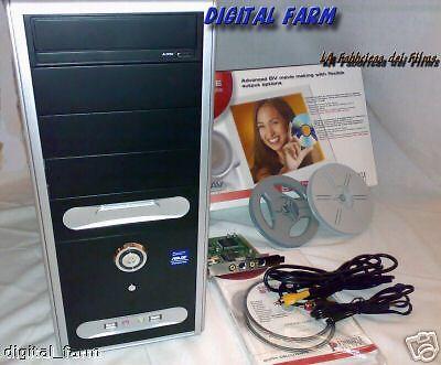 COMPUTER PROFESSIONALE PER MONTAGGIO/EDITING VIDEO E CREAZIONE DVD