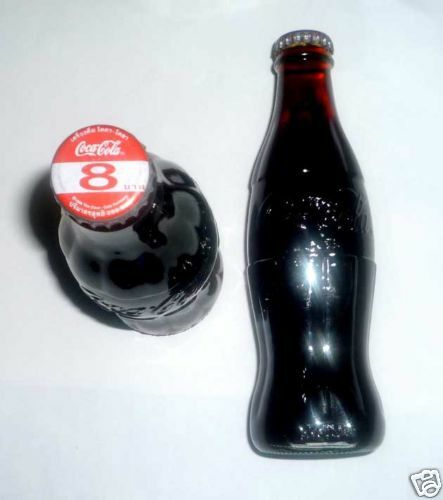 Old Glass COCA COLA Bottle THAILAND 1998 COKE Rare Embossed 250ml Asia Collect