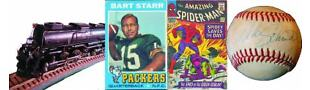 COMICS COLLECTIBLES CARDS N MORE FO