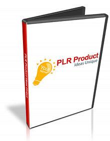 PLR Product Ideas Unique Video Tutorials on CD