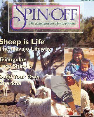 Spin-off magazine winter 1996 CIGAR-BOX CHARKHA, gloves