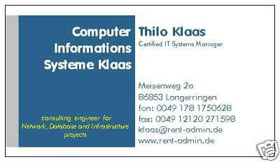 Computer InformationsSysteme Klaas