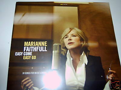 Marianne Faithfull  2x Vinyl  LP  Easy Come, Easy Go   NEW-OVP  2008